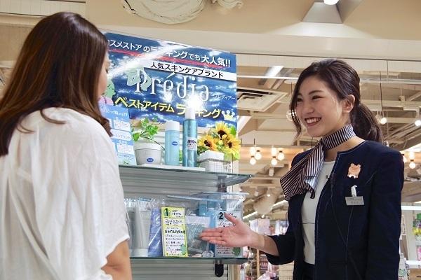 @cosme store 上野マルイ店美容部員・化粧品販売員(接客アルバイト ※首都圏・名古屋)アルバイト・パートの求人のスタッフ写真7