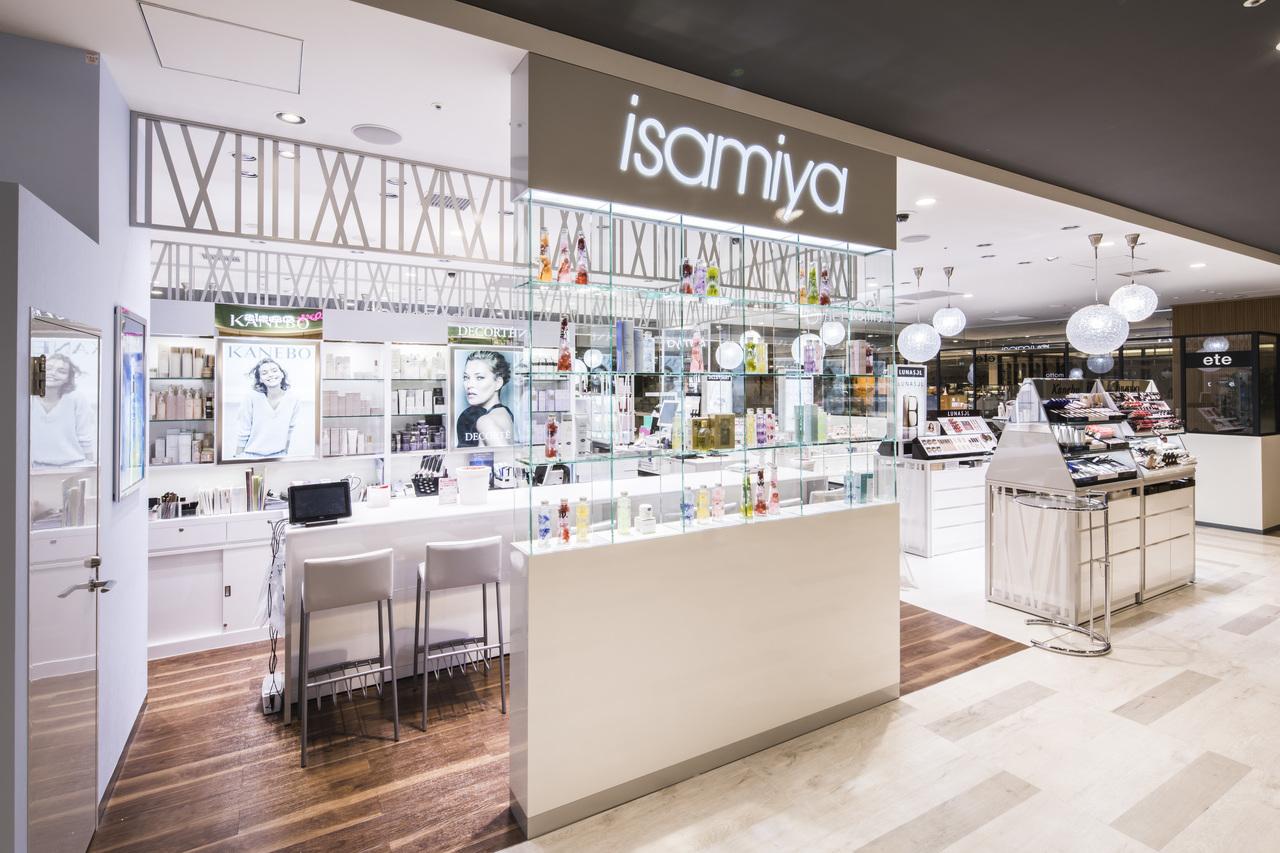 isamiya(イサミヤ)ペリエ千葉店美容部員・化粧品販売員派遣の求人の店内写真1