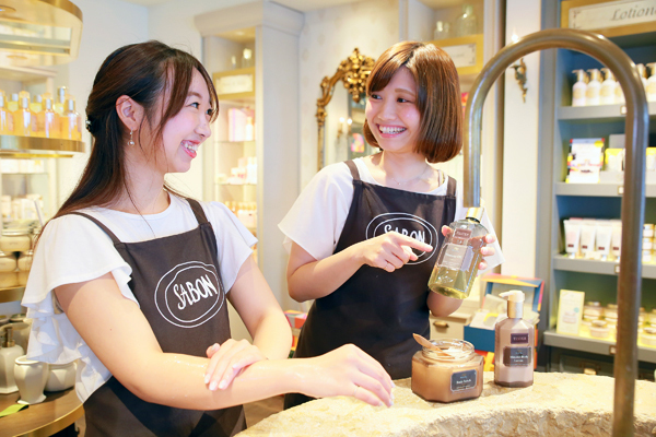 SABON 上野エリア(2017年11月NEW OPEN)美容部員・化粧品販売員(バス&ボディケアの販売)正社員,アルバイト・パートの求人のスタッフ写真1
