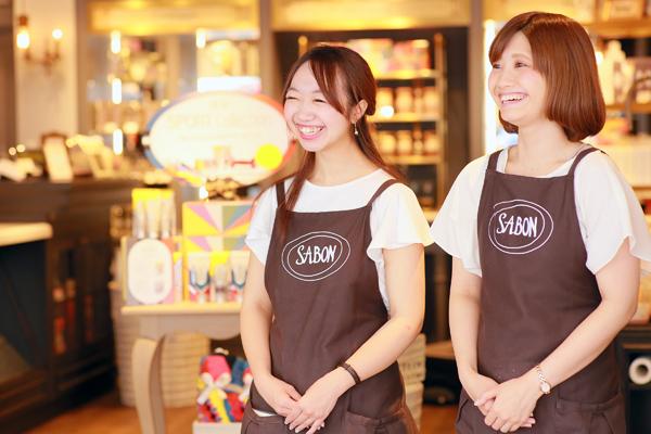 SABON GINZA SIX店美容部員・化粧品販売員(バス&ボディケアの販売)正社員/アルバイト・パートの求人のスタッフ写真1