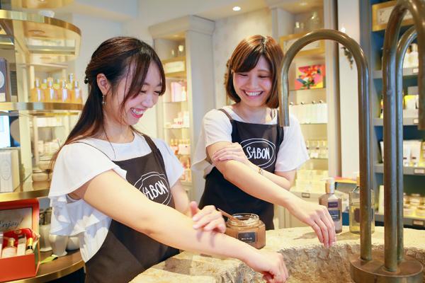 SABON 国分寺店(2018年4月NEW OPEN)美容部員・化粧品販売員(バス&ボディケアの販売)アルバイト・パートの求人の写真