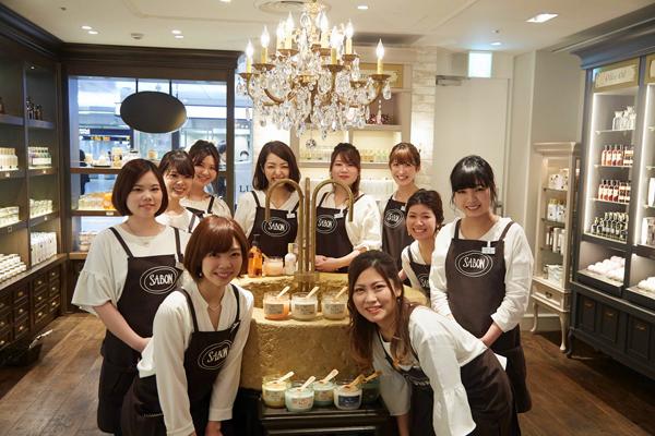 SABON 上野エリア(2017年11月NEW OPEN)美容部員・化粧品販売員(バス&ボディケアの販売)正社員,アルバイト・パートの求人のスタッフ写真6