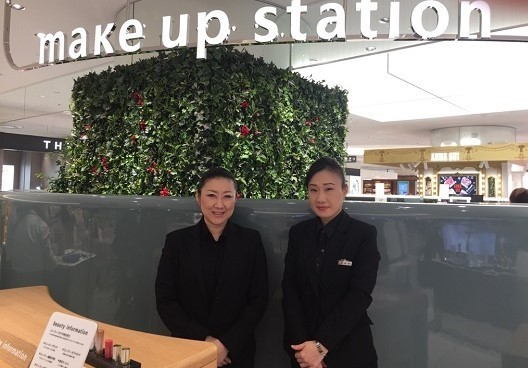 そごう 横浜店 メイクアップステーション美容部員・BA(メイクアップステーション アドバイザー)契約社員の求人のスタッフ写真2