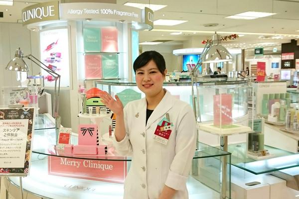 そごう 横浜店美容部員・化粧品販売員(『シャネル』など化粧品カウンター ビューティーアドバイザー)契約社員の求人のスタッフ写真2