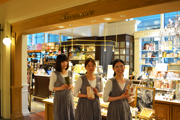 Terracuore(テラクオーレ) 横浜ジョイナス店(2月16日 NEW OPEN)美容部員・化粧品販売員正社員,アルバイト・パートの求人のスタッフ写真2