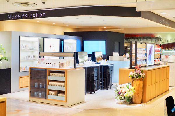 MAKEUP KITCHEN(メイクアップキッチン)名古屋タカシマヤゲートタワーモール店美容部員・化粧品販売員正社員/契約社員/アルバイト・パートの求人の店内写真1