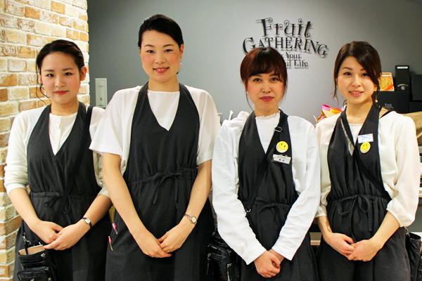 フルーツギャザリング 新静岡セノバ店美容部員・化粧品販売員(販売スタッフ)契約社員,アルバイト・パートの求人のスタッフ写真4