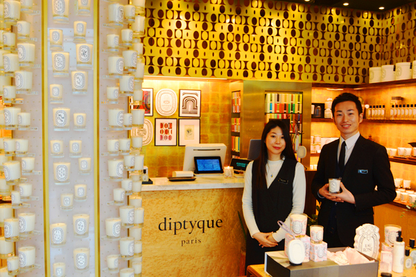 diptyque(ディプティック)横浜エリア(8月NEW OPEN)美容部員・化粧品販売員正社員の求人のスタッフ写真1