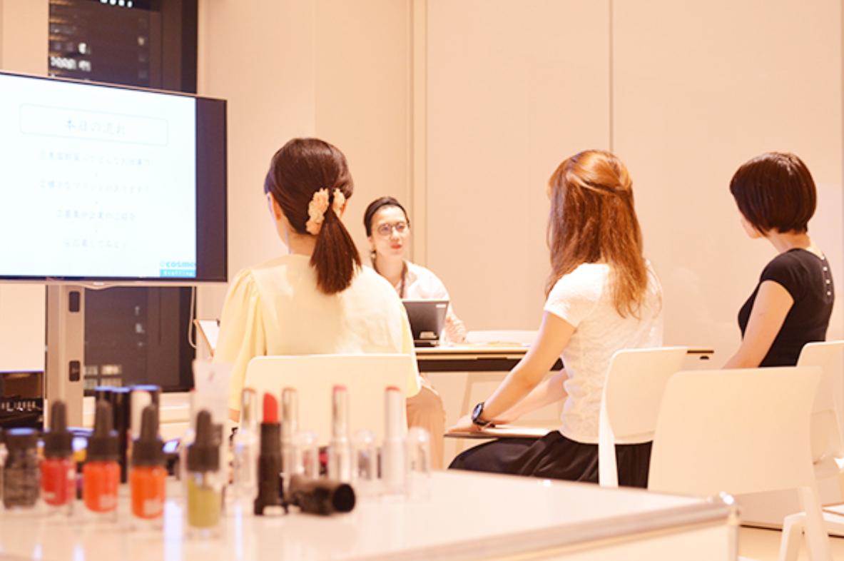 【8月開催】★美容部員になるためのセミナー情報★~ブランド適性診断&就業エントリー&転職相談会~