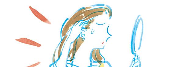 【白髪の原因と予防法】白髪を減らす方法とおすすめアイテムは? A-Beautyの画像