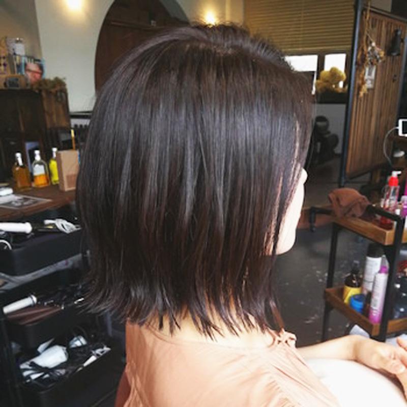 【髪質別ヘア】 多め・硬め・太めの髪質に合うボブスタイルは? @cosmeサロン特集 の画像