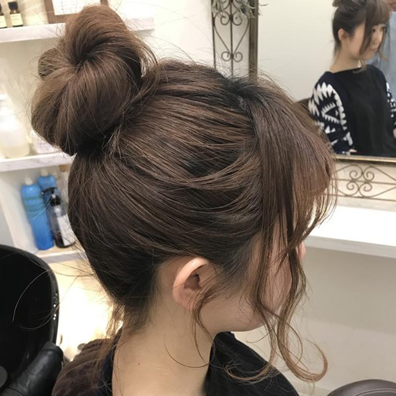 朝よわ女子に朗報☆5分で垢抜けヘアアレンジまとめ まとめ の画像