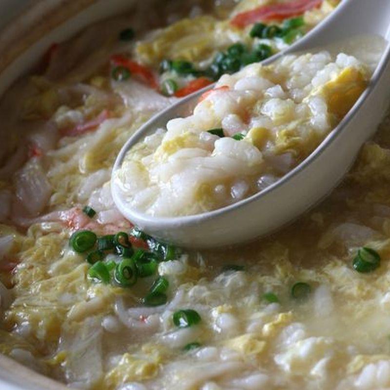 カロリー 卵 雑炊