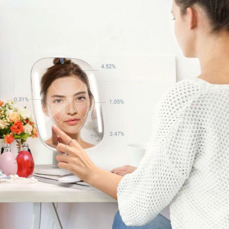 鏡があなたの専属ビューティアドバイザーに!ビューティミラー「HiMirror Mini」登場 /  @cosmeまとめ の画像