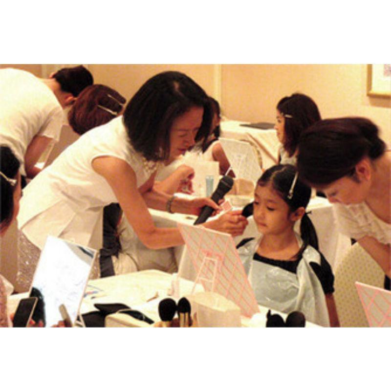 2月2日開催!母娘で楽しめる「プリンセスメイク教室」でキレイに変身 まとめ の画像