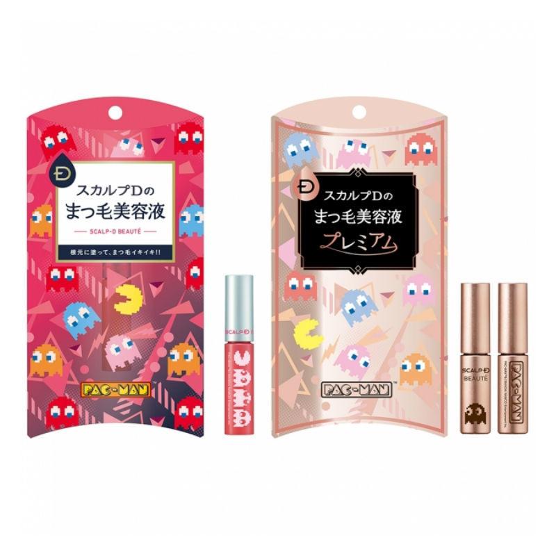 化粧品初!パックマンとのコラボパッケージが限定発売!スカルプDのまつげ美容液シリーズ まとめ の画像