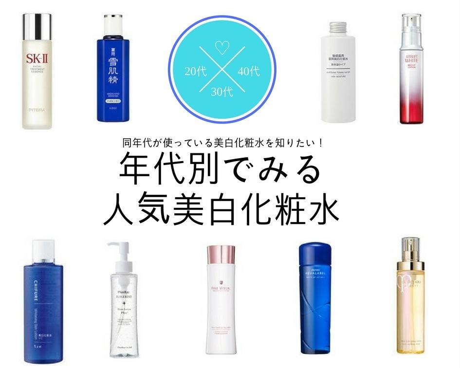 化粧 水 おすすめ
