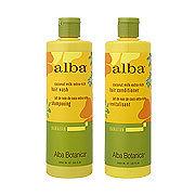 alba Hawaiian ヘアウォッシュ/ヘアコンディショナー CE ココナッツミルク(Coconut Milk Extra‐Rich Hair Wash/Conditioner)