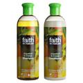 faith in nature(フェイスインネイチャー) / シャンプー GO グレープフルーツ&オレンジ/コンディショナー GO グレープフルーツ&オレンジ