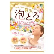 贅沢泡とろ 入浴料 プルメリアガーデンの香り