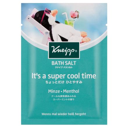 クナイプ バスソルト スーパーミントの香り / クナイプ の画像