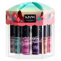 NYX Professional Makeup / リップスナックス ソフト マット メタリック リップクリームセット
