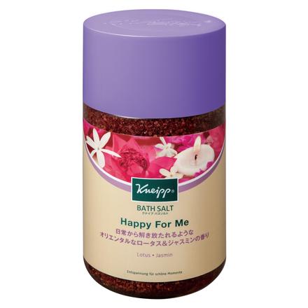 クナイプ バスソルト ハッピーフォーミー ロータス&ジャスミンの香り / クナイプ の画像
