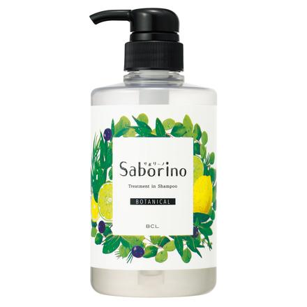 髪と地肌を手早クレンズ トリートメントシャンプー ボタニカルタイプ / サボリーノ の画像