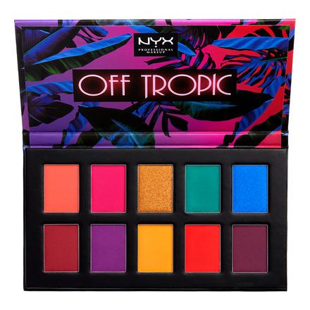 オフトロピック シャドウ パレット / NYX Professional Makeup の画像