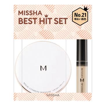 クッションファンデ+コンシーラー BEST HIT セット / MISSHA(ミシャ) の画像