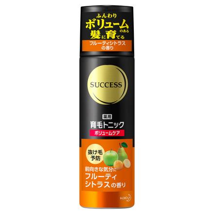 薬用育毛トニック ボリュームケア フルーティシトラスの香り / サクセス の画像