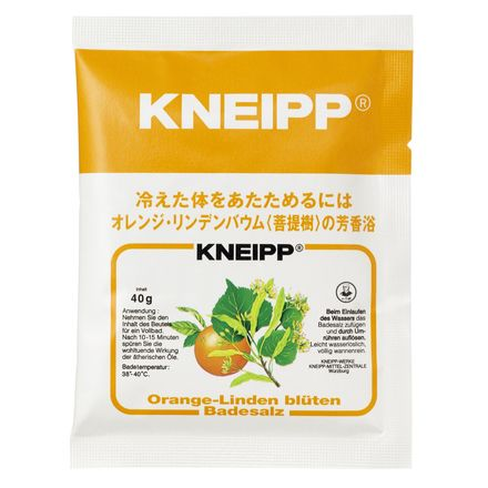 「クナイプ」 (850 クナイプジャパン バスソルト 850g クナイプバスソルトオレンジ オレンジ・リンデンバウムの香り