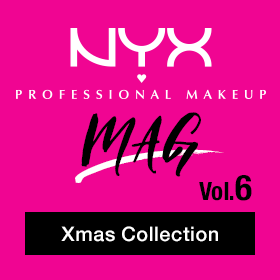 NYX Professional Makeup MAG Vol.6 Xmas Collection