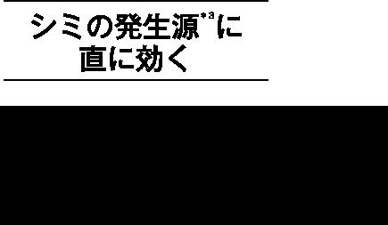 シミの発生源*3に直に効く進化系 コウジ酸美白美容液『メラノショット ホワイト D』 誕生。