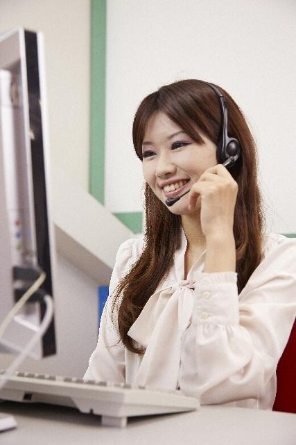 綺麗なオフィスで電話対応のお仕事♫【未経験OK】の求人の画像