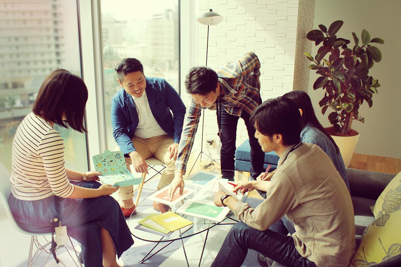 デザイナーやUXエンジニアとの社内協業環境で、WEBやスマフォアプリの開発が行なえますの求人の画像