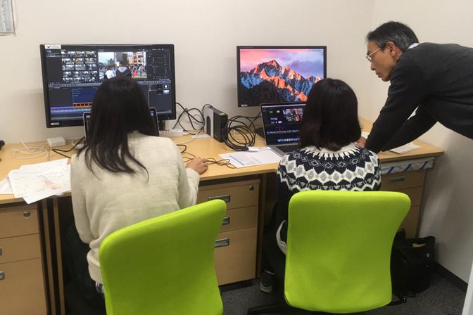《インターン》世界初の映像技術を体感できるオリジナル動画サイトの撮影・編集アシスタント募集!の求人の画像